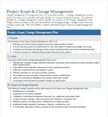 Change Management Plan Examples Strategy Templates – Akronteach.info