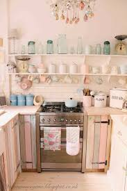 Shabby Chic Kitchen Furniture Shabby Chic Kitchen Cabinets Pinterest Design Porter