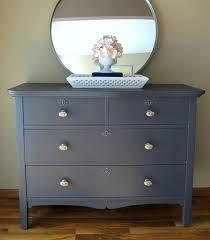 grey painted furnitureColor Inspiration Dark Grey Blue Dark Grey Painted Dresser by