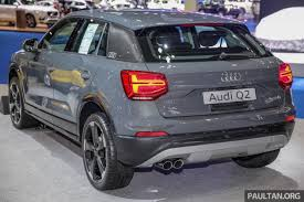 2018 audi q2. exellent 2018 plenty of beautifullystyled metal on show floor to make it this writeru0027s  coffee stop including r8 tt and a5 coupes but the audi q2 is most relevant  inside 2018 audi q2