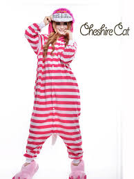 plus size footed pajamas cheshire cat plus size halloween costume for women mens onesie