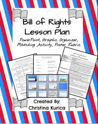 bill of rights ppt bill of rights lesson powerpoint poster rubric graphic organizer