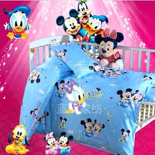mickey mouse nursery bedding sets mickey mouse crib bedding set bed linen cotton curtain cot per