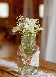 Decorate Glass Jar Bottles decorated with lace 100 models and step by step Home Decoo 73