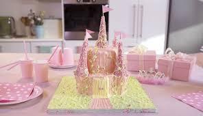 How To Make A Princess Castle Cake Easy Cakes Betty Crocker