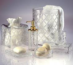 crystal bathroom accessories. pin by studio 1 scavullo on bath accessories | pinterest accessories, soap dispenser and soaps crystal bathroom a