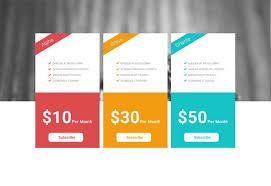 Pricing Table Templates Pricing Card Design Pricing Table Table Template Web Design