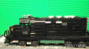 Lego Train engine - black GP-38 - Custom! - YouTube