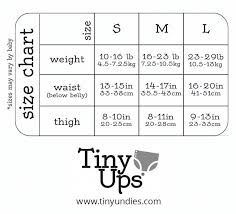 Tinyups Cloth Pull Up Covers Size Chart Kidsshoes Kids