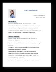 Formatos De Curriculum Simple Modelos De Curriculum Vitae Top 15 Plantillas Para Descargar