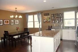 Open Floor Plan Floors Dining Room Kitchen Living House Plans