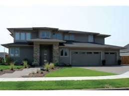 Prairie Style House Plans   Craftsman Home Plans Collection at    BLUEPRINT QUICKVIEW  middot  Front  EP