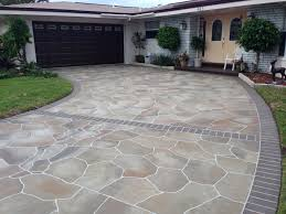 concrete driveway design ideas painting patio to look home theater decor home decorators