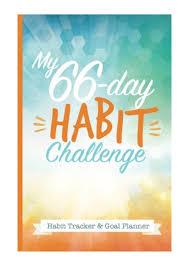 Day Tracker Planner My 66 Day Challenge Habit Tracker Goal Planner Pdf Happy Books Hu