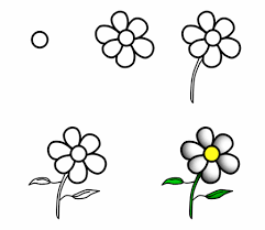Small Picture How to draw cartoon flowers