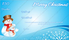 Christmas Gift Certificate Template 7