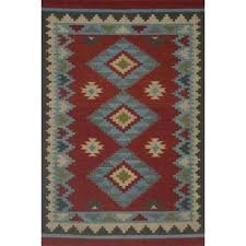 red dhurrie rug red blue hand woven red and black dhurrie rug