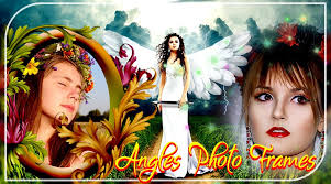 angel photo frame angel photo editor poster