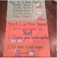 Book Shopping Anchor Readers Workshop Kindergarten 1st