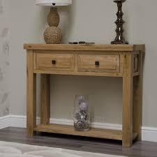 oak console tables oak hall tables. Regent Solid Oak Furniture Console Hallway Table Tables Hall