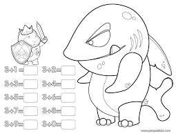 Coloring Pages Addition Coloring Book Peapod Labspeapod Labs