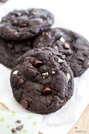 gooey double chocolate chip cookies.  Gooey For Gooey Double Chocolate Chip Cookies U