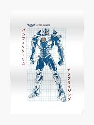Pacific Rim Uprising Kaiju Size Chart Gipsy Danger Color Version Pacific Rim Uprising Poster