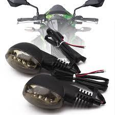 Led Lights For Ninja 250r Us 24 17 7 Off For Kawasaki Ninja 250r 08 12 Front Rear Turn Signals Blinker Turn Signals Amber Lights Indicators Lamp Blinker Led Light On