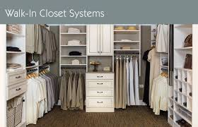 whole manufacturing of walk in closet organization systems