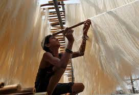 ramadan around the world newsweek middle east a boy hangs strands of vermicelli a specialty eaten during the muslim holy fasting month