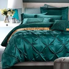 green duvet cover luxury bedding set blue green duvet cover bed in a bag sheets bedspreads