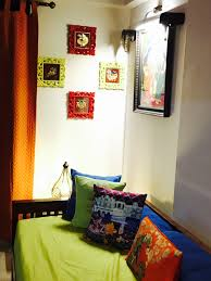 Love My House A Niche Done In Vibrant Colours With Tanjore Art - My house interiors
