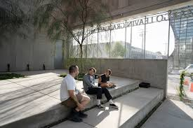 Ucla Architecture Urban Design Johnston Marklee Reveals Its Curvy Concrete Ucla Art Studios