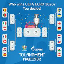 UEFA EURO 2020 - Think you can guess how the rest of #EURO2020 will unfold?  🤔 Try our tournament predictor 👉  https://gaming.uefa.com/en/uefaeuro2020tournamentpredictor #EUROPredictor |  Gazprom Football