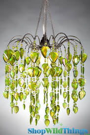 chandelier fountain lime green 12