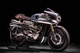 spirit racer hedonic triumph thruxton r return of the cafe racers