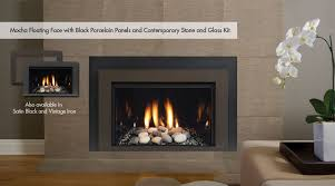 beautiful living room natural gas fireplace insert with blower decor 17
