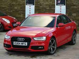 black audi 2014. audi a4 car from united kingdom black 2014 w