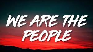 Martin Garrix feat. Bono & The Edge - We Are The People (Lyrics/Lirik)  [EURO 2020 Song]