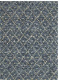 woven impressions diamond ikat rug blue finish for awesome dining room floor design