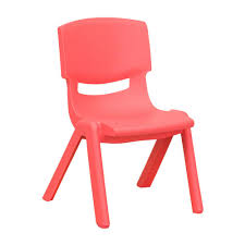 plastic school chairs. Modren Chairs Flash Furniture Red Plastic Stackable School Chair With 105 In Seat Height With Chairs S