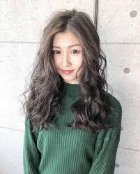 黒髪卒業式ソフトグレージュヘアカタログ 美容室 Nyny 松井山手店