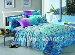 blue bedroom sets for girls. Blue And Purple Comforter Set Floral Prints Cotton Girls Bedding  Blue Bedroom Sets For Girls T