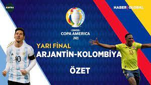 Arjantin Kolombiya maç özeti izle | Copa America maç özetleri video