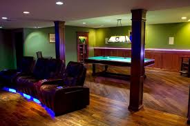 led lighting purple flexible led light strips in molding and blue strips under recliners