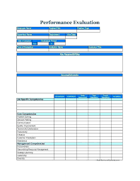 Job Evaluation Template Classy 44 Day Employee Evaluation Template