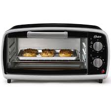 its sleek black finish and subtle silver accents makes it one of the most dazzling oster toaster ovens