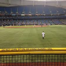 Tropicana Field Section 144 Home Of Tampa Bay Rays