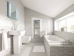 Fully Tiled Bathroom With An Awkwardly Shaped Bathroom Like This It Can Be Tough To