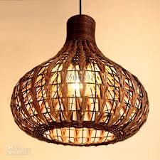 southeast asia rattan garlic dining room ceiling pendant lights handmade study room restaurant parlor onion pendant chandelier fixtures handmade light